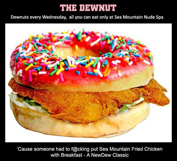 The Sea Mountain Dewnut