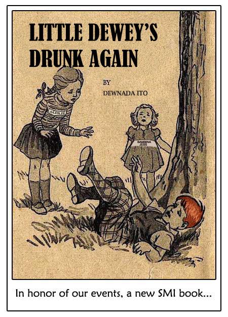 Little Dewey's drunk again - Sea Mountain Spa