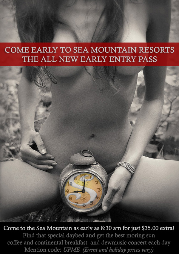 Sea Mountain Nude Lifestyles Resort Early Entry Pass