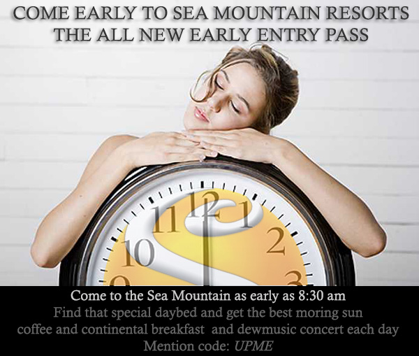 Sea Mountain Nude Lifestyles Spa Resorts - Early Entry Pass Special Offer