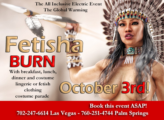 Desert Burn Nudetopia Nudestocks - Burning Rave international lifestyles events at One Love Temple Las Vegas NV