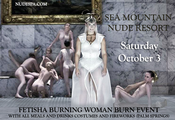 Sea Mountain Nude Lifestyles Spa Resorts Las Vegas and Palm Springs Fetisha Event