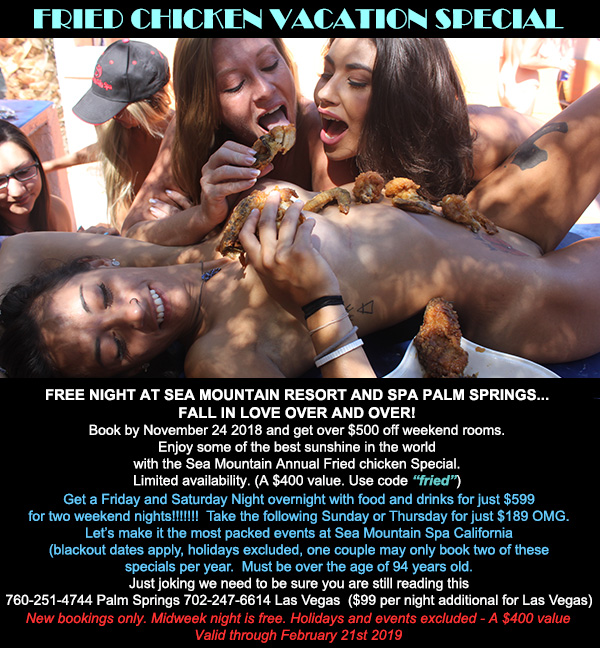 Sea Mountain Nude Lifestyles Spa Resorts Fried Chicken Vacation Special