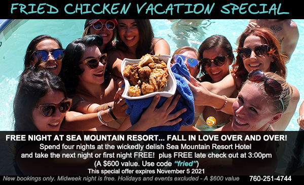 Sea Mountain Spa Fried Chicken Vacation Offer