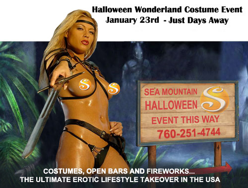 Halloween Wonderland Costume Event January 23rd - Just Days Away