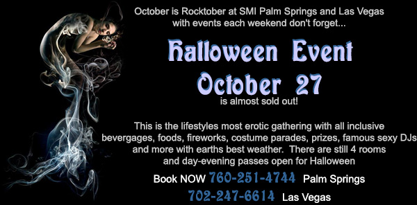 Vegas Takeover and SMI Halloween Final Sales Lifestyles Over California and MY VIP News for C Mountain