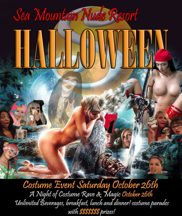 Halloween - Earths Most Sensual Las Vegas And California EVENT - Sea Mountain Resort Clubs Costume All-inclusive