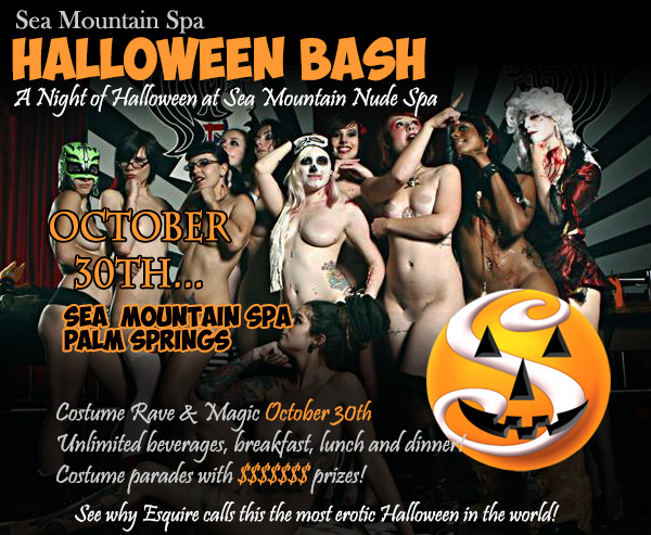 Sea Mountain Halloween - Earths Most Sexual Event the Costume Fireworks All-inclusive as seen in Esquire