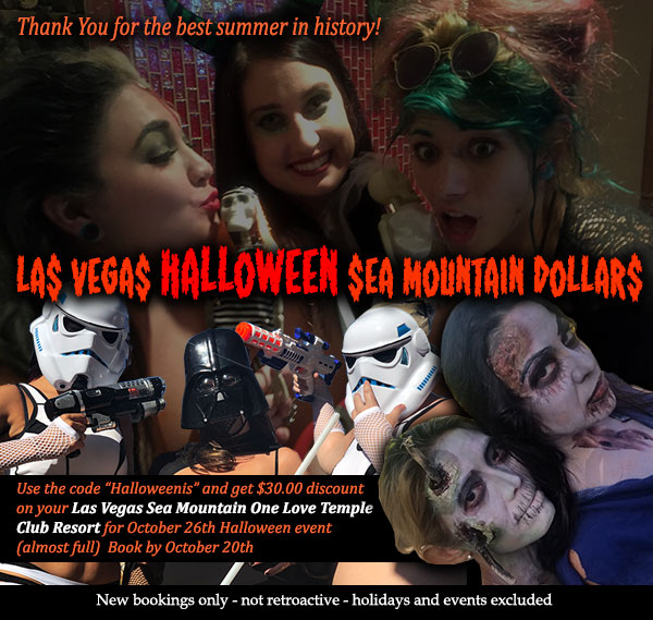 Sea Mountain Nude Lifestyles Spa Resorts - Las Vegas Halloween Special Specials