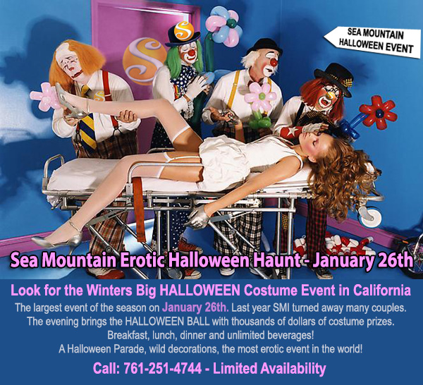 Sea Mountain Nude Lifestyles Spa Resorts Las Vegas and Palm Springs - Erotic Halloween Haunt