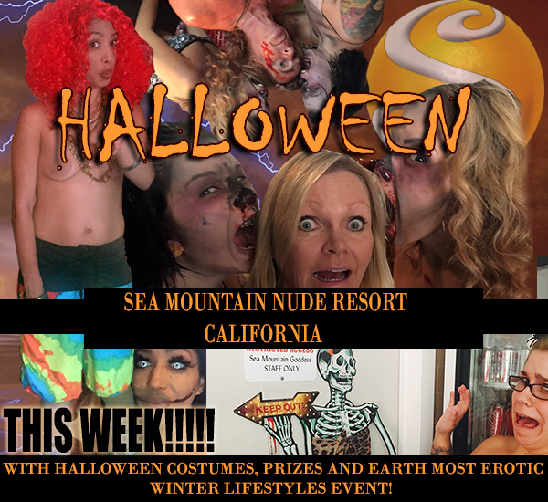 Halloween at Sea Mountain Nude Resort California
