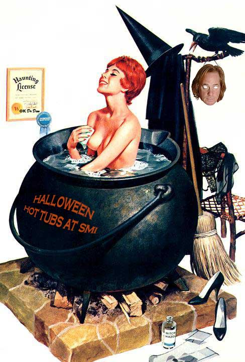 Halloween Hot Tubs at Sea Mountain Nude Lifestyles Spa Resorts