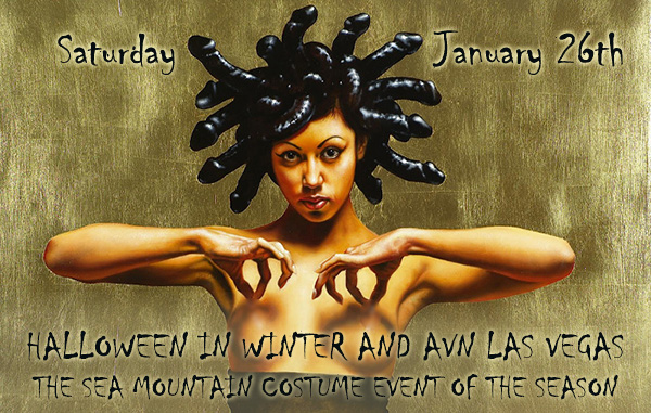 Sea Mountain Nude Lifestyles Spa Resorts Palm Springs and Las Vegas January 26th - Halloween in Winter Wonderland Annual Event