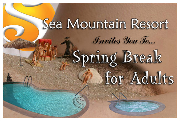 Spring Break, YOU Free Love and Sea Mountain Notification - The Sunshine is HOT Over SMI and SO are You NEWS