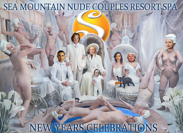 Sea Mountain Nude Lifestyles Spa Resorts Palm Springs and Las Vegas - NUDE YEARS EVE EVENTS