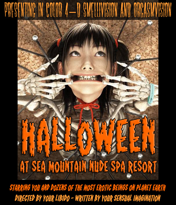 Sea Mountain Nude Lifestyles Resorts Halloween Palm Springs and Las Vegas -  A Devilish Weekend A Weekend Unlike Any Other October 30th and 31st