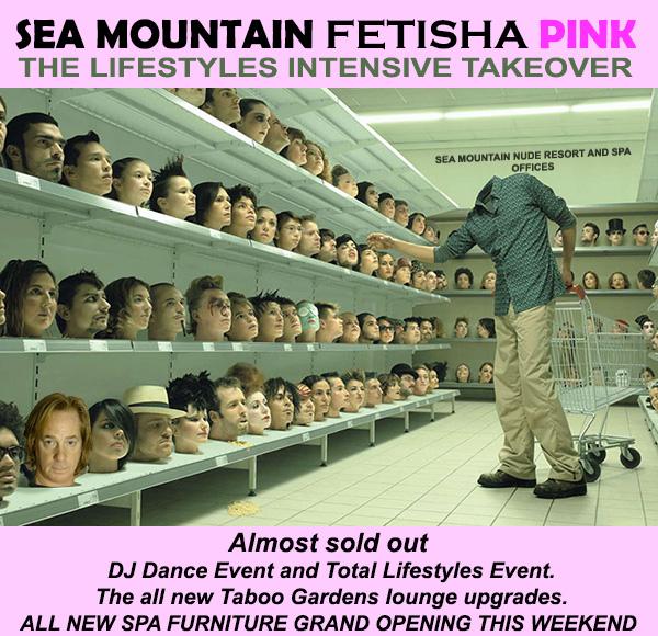 Sea Mountain Fetisha PINK International Beauties Rage