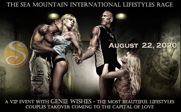 The Sea Mountain International Lifestyles Rage - A VIP Event with Genie Wishes - The Most beautiful lifestyles couples takeover coming to the capital of love