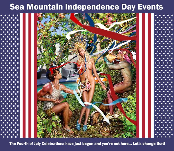 LOVE Wet 4th of July VIP Celebrations Sea Mountain One Love Free Play Wettest Lifestyles Event Ever This Weekend July 2-3-4-5