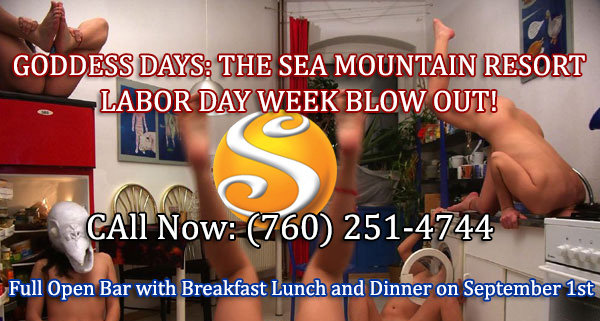 Labor Day Events at Sea Mountain Nude Lifestyles Spa Resorts Palm Springs and Las Vegas