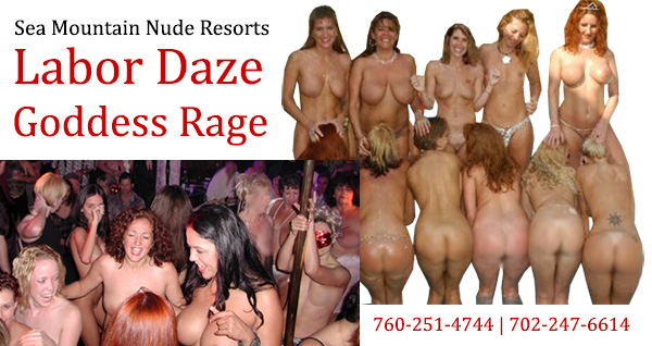 Sea Mountain Spas - Earth's Most Provocative Labor Days - Costumes and More! The wettest warmest most erotic lifestyles takeover in the world - LABOR DAY GODDESS ZONE