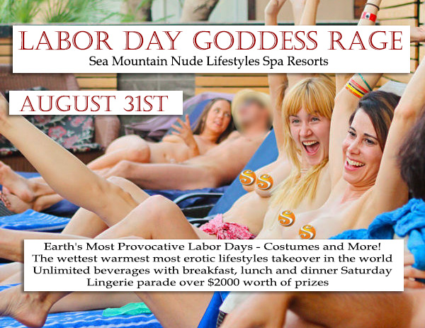 Labor Day SALE Lifestyles SMI Sea Mountain News Water SUN SIN and SHEDONISM VIP Email