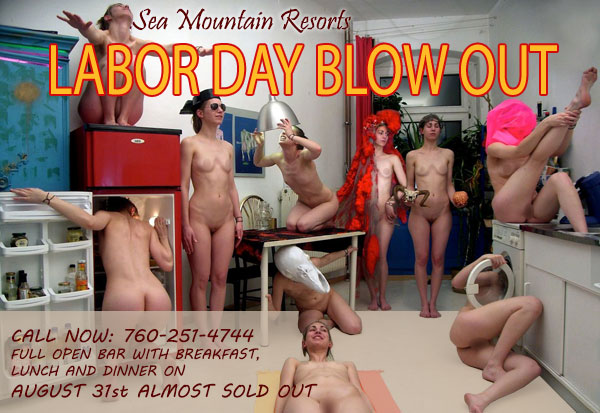 SEA MOUNTAIN LABOR DAZE - EARTHS MOST OUTRAGEOUS LABOR DAZE - LABOR DAY WEEKEND 5 NIGHTS AND DAYS OF THE LARGEST LIFESTYLES LUXURY CELEBRATIONS IN THE WORLD - SEXXY AND MORE
