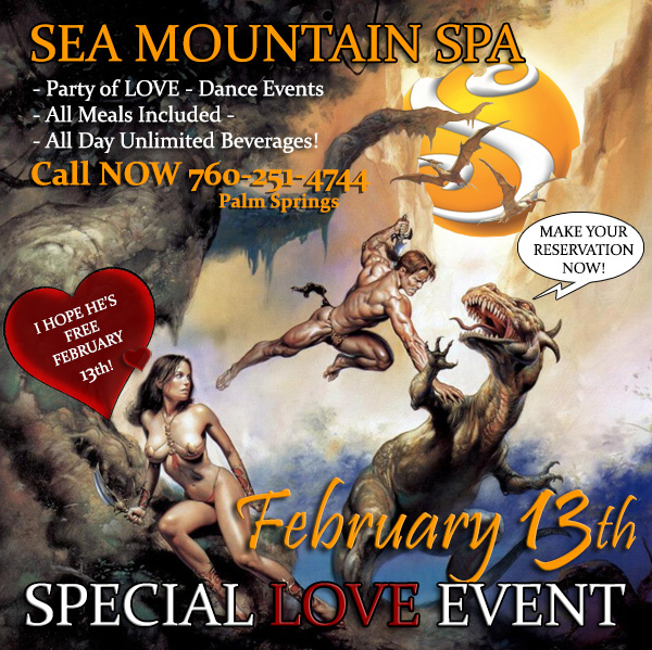 Sea Mountain Spa Special Love Event February 13th