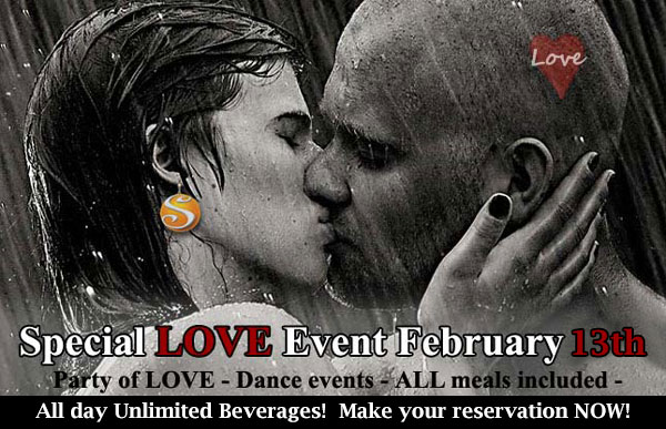 Sea Mountain Nude Lifestyles Spa Resort Special Love Event February 13th
