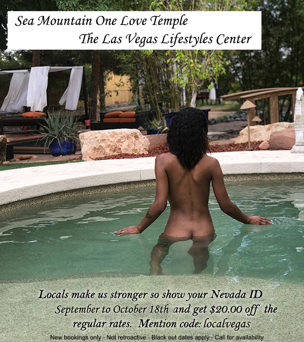 Sea Mountian One Love Las Vegas - Locals make us stronger so show your Nevada ID September through Ocrober 18th and get $20 off the regular rates.  Mention code localvegas