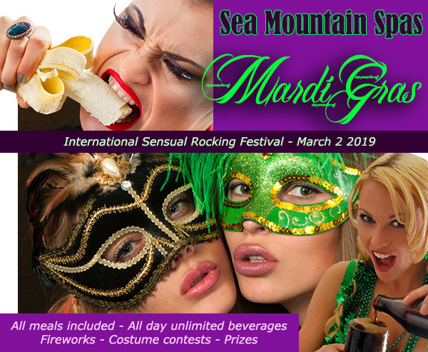Mardi Gras international - Sensualis Lifestyles Over California and Las Vegas -  Mardi Gras Celebrations - Mardi Gras march second is the main costume event  international sensual rocking festival only at Sea Mountain Spas