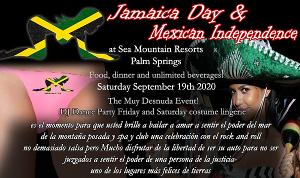 Sea Mountain Nude Lifestyles Spa Resorts Las Vegas and Palm Springs - Mexican Independance Events