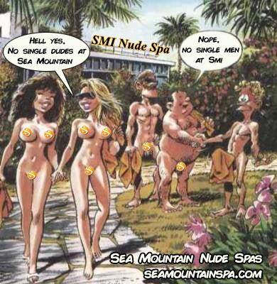 SMI Nude Spa - No single dudes ever