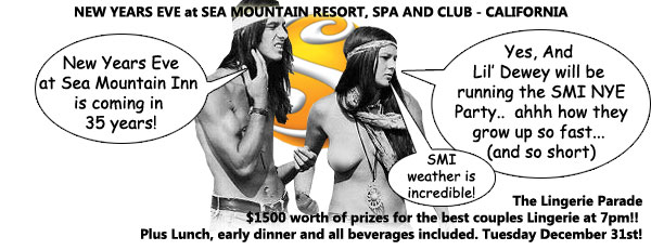 Sea Mountain Nude Lifestyles Spa Resort New Years Eve Special Events