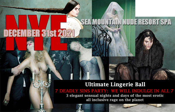 Sea Mountain Nude Spa New years Eve Events