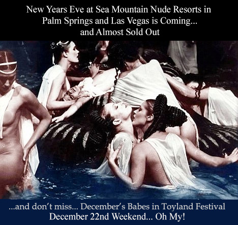 Sea Mountain Vegas and California NYE New Years Eve Erotic Events