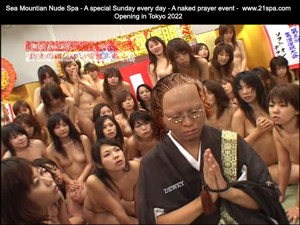 Sea Mountain Nude Spa - A Special Sunday every day - A naked prayer event - Opening in Tokyo 2022