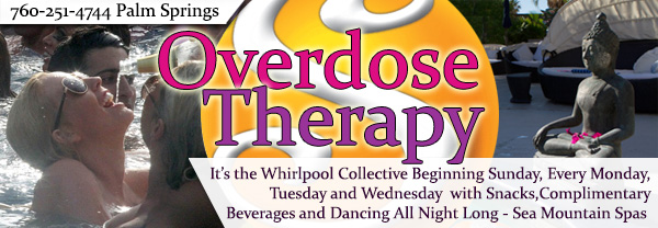 Sea Mountain Overdose Therapy - It's the whirlpool Collective beginning Sunday, Every Monday, Tuesday and Wednesday with snacksm complimentary beverages all day long.
