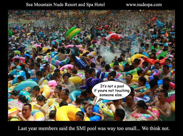 Last year members said the SMI pool was way too small... We think not