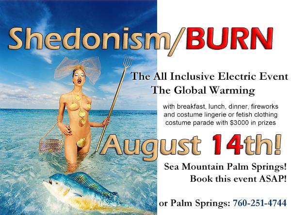 Sea Mountain Spa Shedonism Auust 14th 2021