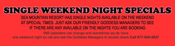 Sea Mountain Nude Lifestyles Spa Resorts - Single Night Availability