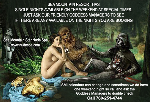 Sea Mountain Nude Lifestyles Spa Resorts - Single nights available on the weekends