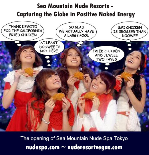Sea Mountain Nude Resorts - Capturing the Globe in Positive Naked Energy - The opening of Sea Mountain Nude Spa Tokyo