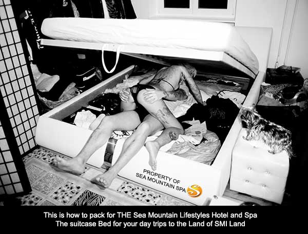 Take your suitcase bed to Sea Mountain Spa