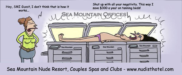 Sea Mountain tanning bed savings