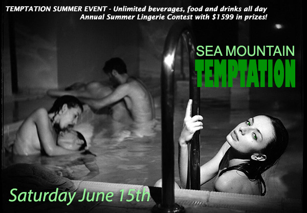 SKIN TEMPTATION - You're not here - Let's change that - Summers BALLS at SMI Private Sea Mountain Invitation Rare Views