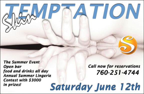 Sea Mountain Skin Temptation Saturday June 12