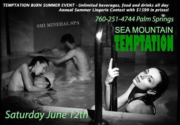 Sea Mountain Temptation Summer Event