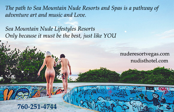 The path to Sea Mountain Resorts and Spas is a pathway of adventure art and music and love nudespa.com