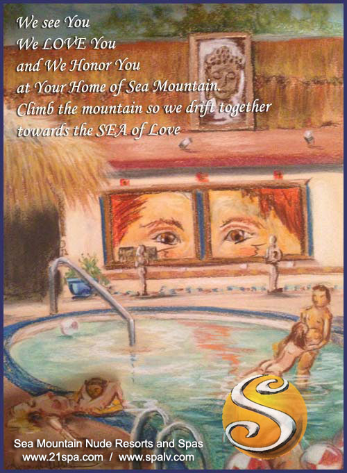 We See you with us at Sea Mountain Nude Lifestyles Spa Resorts
